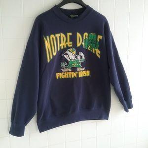 Vintage Notre Dame Fighting Irish Crewneck